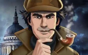 Il personaggio di Sherlock Holmes sfruttato come elemento distintivo per il gioco