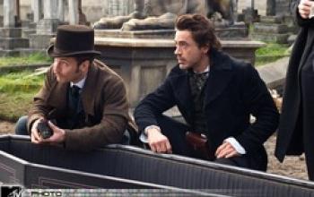 Nuova foto dallo Sherlock Holmes di Guy Ritchie