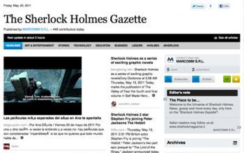 The Sherlock Holmes Gazette