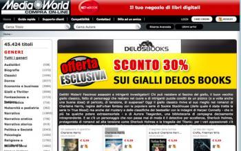 Media World propone i Gialli Delos Books al 30% di sconto
