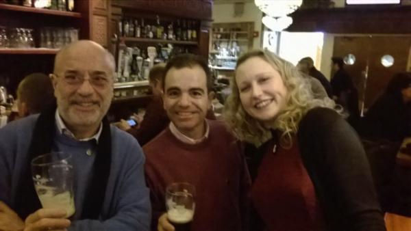 Enrico Solito, Michele Loper e Brigitte Latella