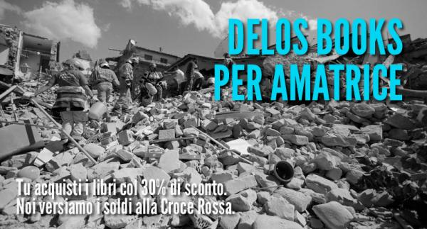 Delos Books per il terremoto