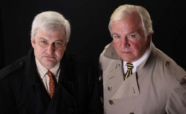John Douglas (a destra) e Mark Olshaker