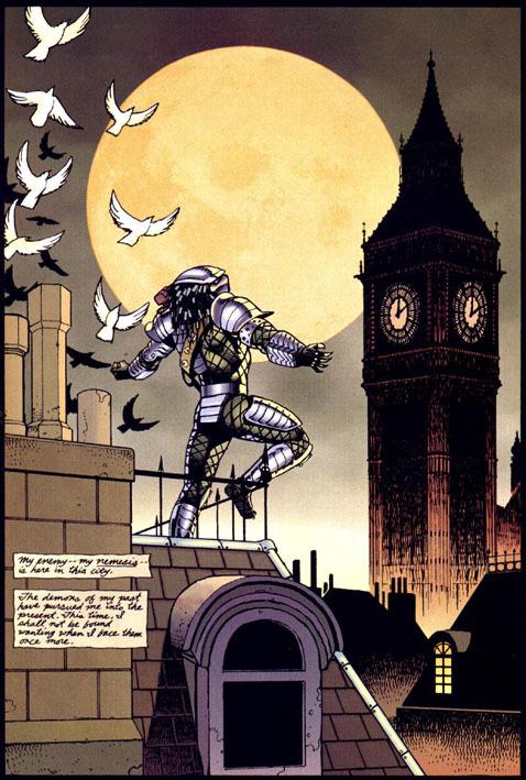 Il Predator nella Londra di fine Ottocento