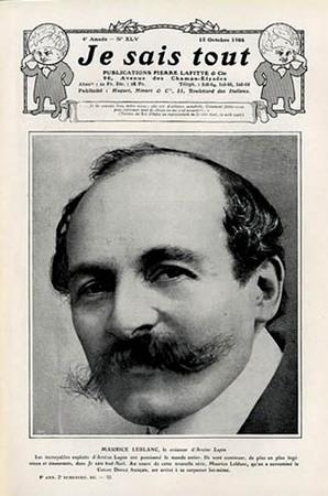 Maurice Leblanc nel 1908