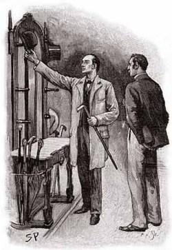Illustrazione originale del racconto L'uomo difforme