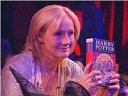 La scrittrice JK Rowlings