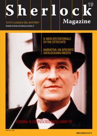 Anteprima della copertina del nuovo numero della Sherlock Magazine.