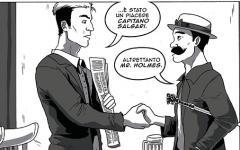 Emilio Salgari e il baccanale rosso sangue