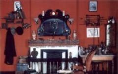 L'esatta replica del salotto di Baker Street