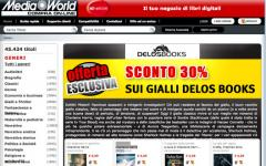 Media World propone i Gialli Delos Books al 30% di sconto