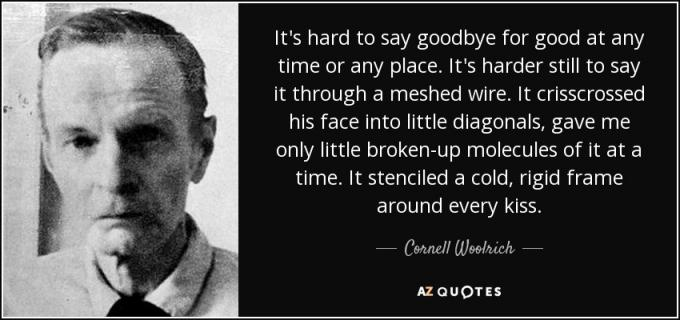 Cornell Woolrich
