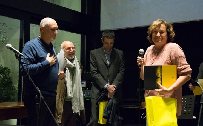 La vincitrice dell'edizione2017: Lia Tomasich