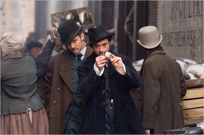 """Immagine di scena del nuovo film """"Sherlock Holmes"""""""