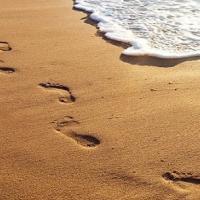 Orme sulla sabbia
